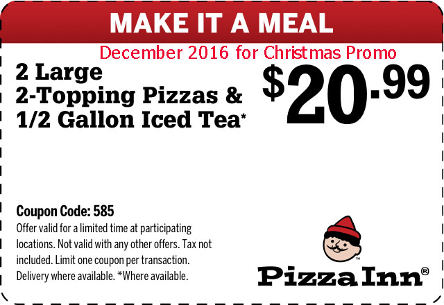 Marks pizza coupons 2018