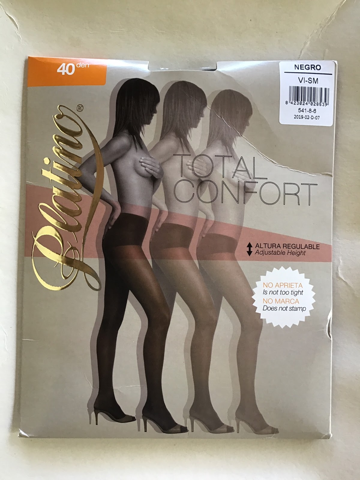 ef9da6ec7df The first product are the Platino 40 Denier Total Confort Tights.
