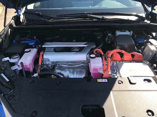 Hybrid powerplant in 2020 Lexus NX 300h