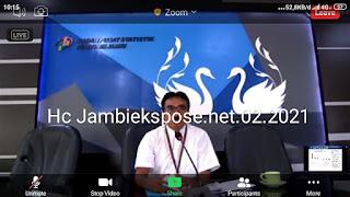 Ekonomi Provinsi Jambi tahun 2020 terkontraksi 0,46 persen.