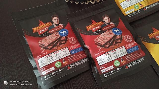Dendeng Bakar Cik Midah - Beef