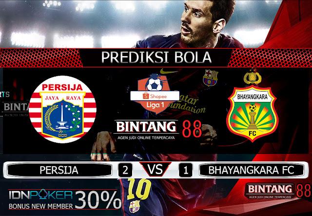 PREDIKSI BOLA PERSIJA VS BHAYANGKARA FC 10 AGUSTUS 2019