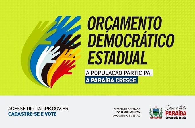 Prefeitura de Amparo convida população para efetuar cadastro e participar do Orçamento Democrático Estadual