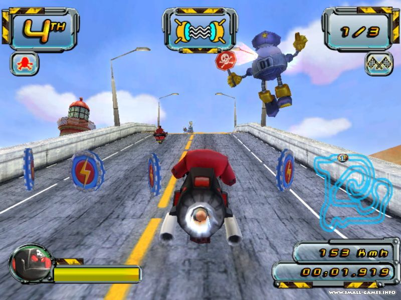Crazy Frog Racer PC, PS2, GBA, NDS | gamepressure.com