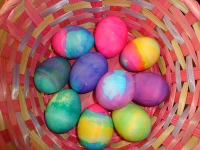 Volcanic Easter Eggs