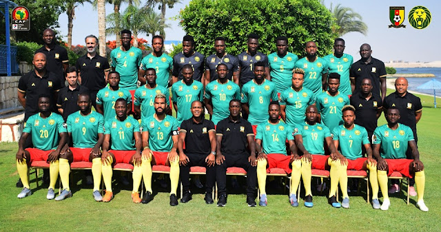 CAMEROUN - GUINEE BISSAU : LE 0NZE ENTRANT