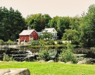 Scenic Bridge in Antrim NH Home Harvest Festival _ New England Fall Events