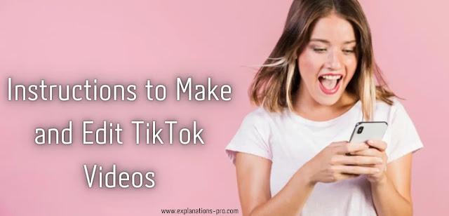 Edit TikTok Videos