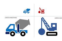 Template Icon Powerpoint untuk Perusahaan Konstruksi, Arsitek, dan Pemborong