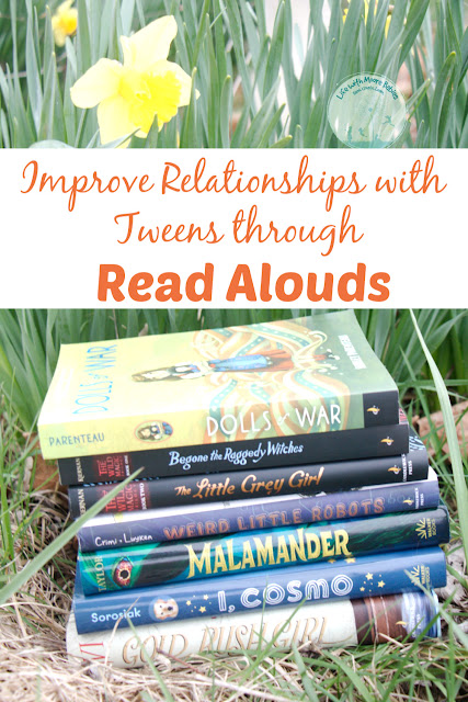 Reading Alouds can Improve Relationships with Tweens