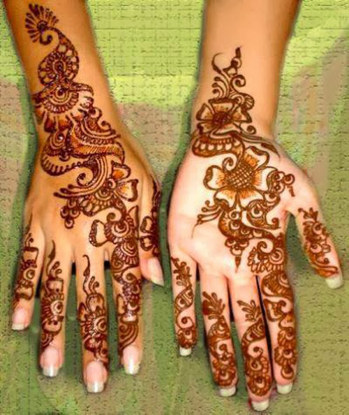 50 Beautiful Mehndi Designs Henna Hand Art Pixelpush Design
