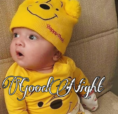 cute baby good night image pics photo Download hd free for whatsapp