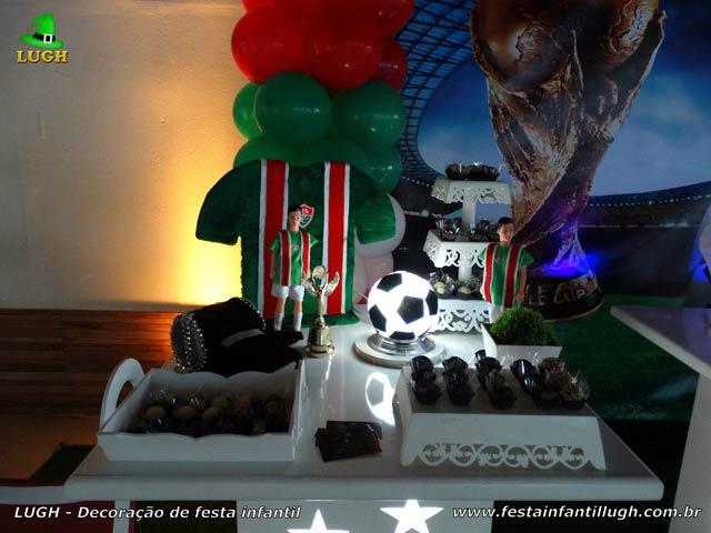 Decoração de aniversário Fluminense - Festa infantil