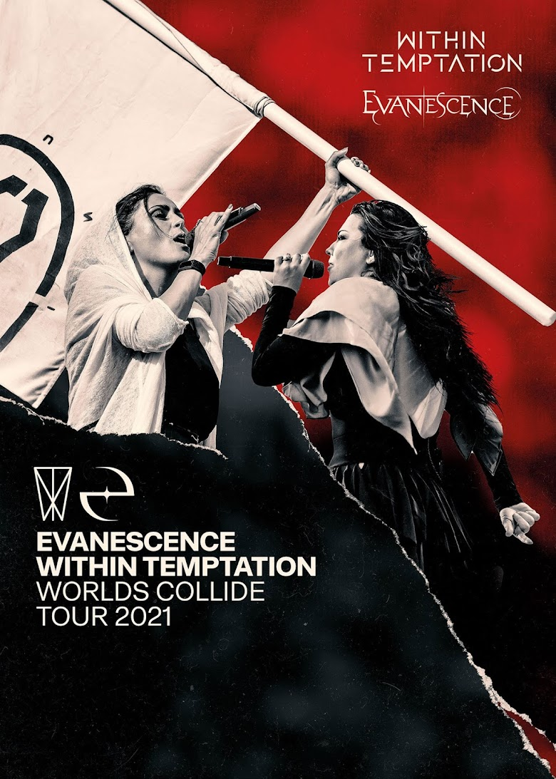 "Evanescence y Within Temptation posponen el ""Worlds Collide Tour"" para 2021"