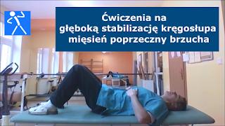 core stability rehabilitacja ćwiczenia