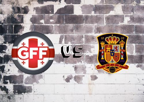Georgia vs España  Resumen y Partido Completo