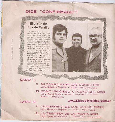 Los de Punilla - Cantan a Los Cocos
