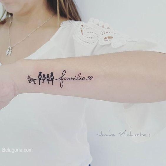 tatuajes para mujeres familia