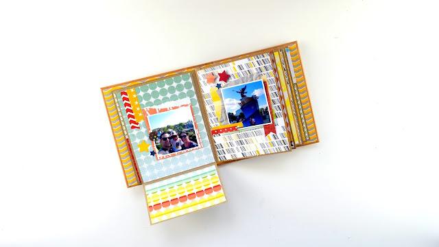 minialbum Disney en caja