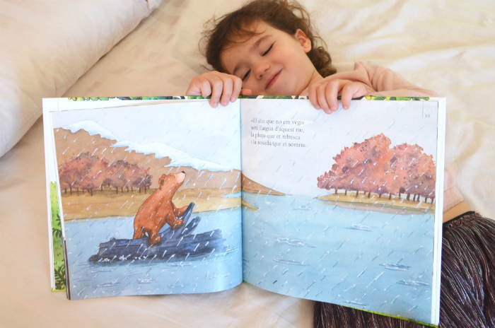 cuento infantil hablar muerte niños, duelo, perdida ser querido siempre ana galan bruño interior libro