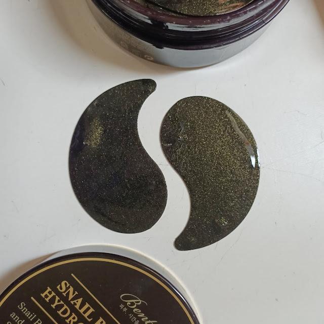 hydrogel eye patch benton. eye patch korea