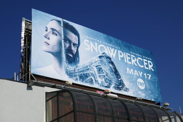 Snowpiercer series premiere billboard