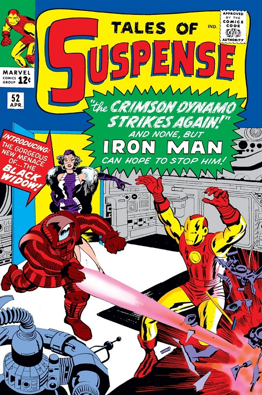 Cover of Tales of Suspense Vol 1 #52