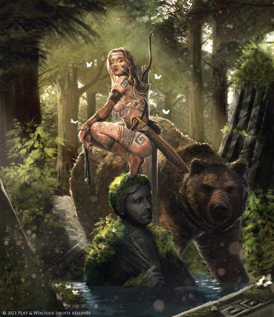Loïc Muzy ilustrações fantasia arte sombria games