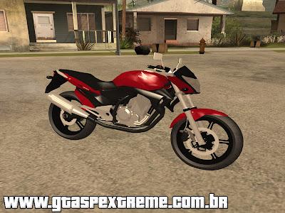 Honda CB 300R para GTA San Andreas