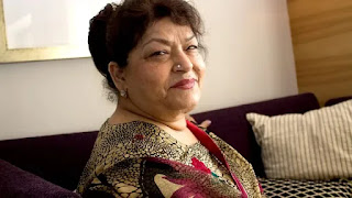 choreographer saroj khan admitted to hospita due to breathing problem