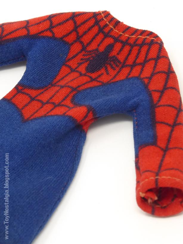 "Mego Spider-Man 8"" - Traje elastizado elastic suit  (MEGO - World's Greatest Super Heroes!)"