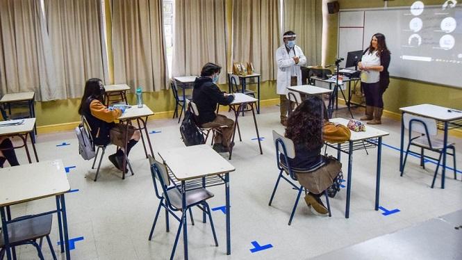 Hoy vuelven las clases presenciales en Mendoza
