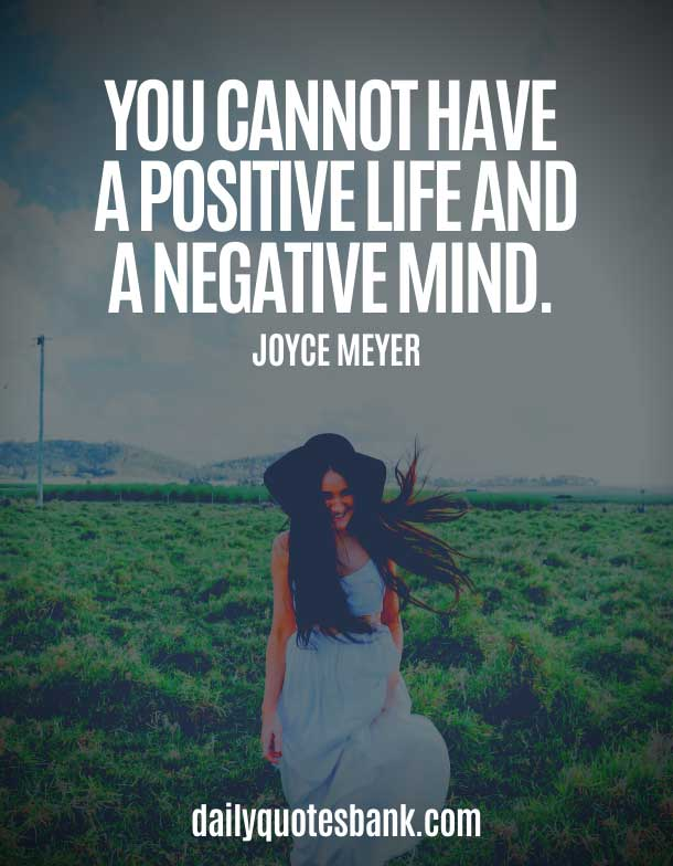 Motivational Quotes About Positive Minds in Tough Time