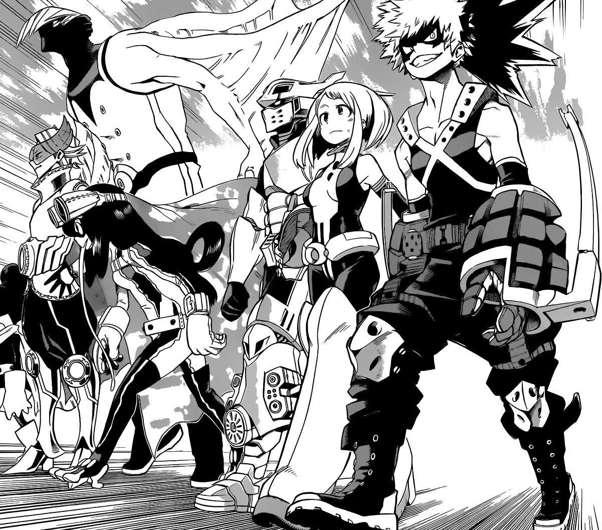 My Hero Academia Heroes: BINGE-READ MANGA: My Hero Academia