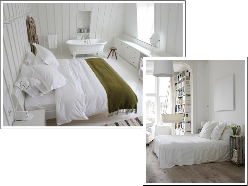 WEST END COTTAGE: Master Bedroom Design