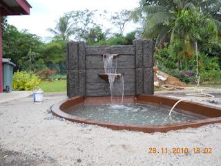 pin.bb.2989eef4..taman minimalis .kolam air mancur .tukang