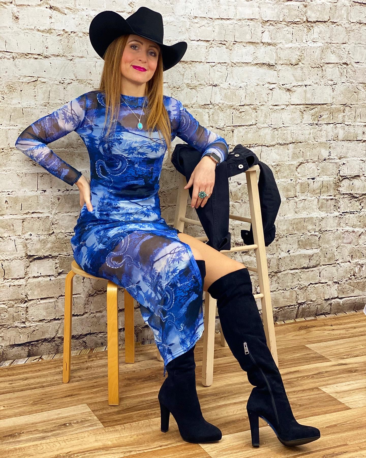 Femmeluxe mesh dress