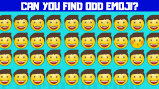 Can you find the Emoji which is Different?