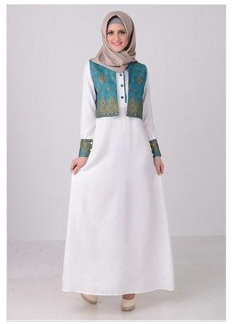 Elevenia Koleksi Baju Muslim Gamis Modern Motif Batik Untuk Remaja