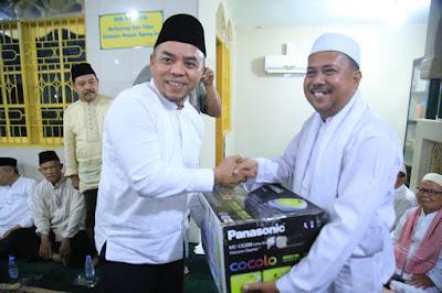 Sepuluh Masjid di Kecamatan Rantau Utara Terima Bantuan dari Pemkab Labuhanbatu