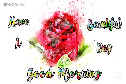 38 Beautifull Good Morning Wishes Drawing Images | Good Morning Greetings Art | Flowers | Birds