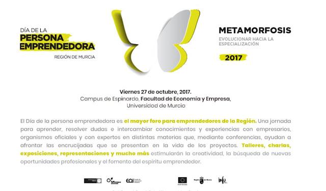 Día de la Persona Emprendedora de la Región de Murcia 2017.