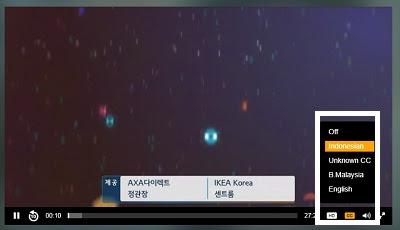 cara menampilkan Subtitle viu di versi browser destop