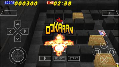 تحميل لعبة Bomberman لأجهزة psp ومحاكي ppsspp