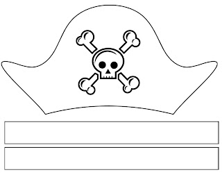 image relating to Printable Pirate Hats named Musings of an Typical Mother: Pirate Phony Participate in