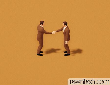 Aperto de mão firme, A Firm Handshake, felps