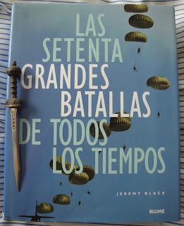 Portada del libro Las sesenta grandes batallas de todos los tiempos, de Jeremy Black