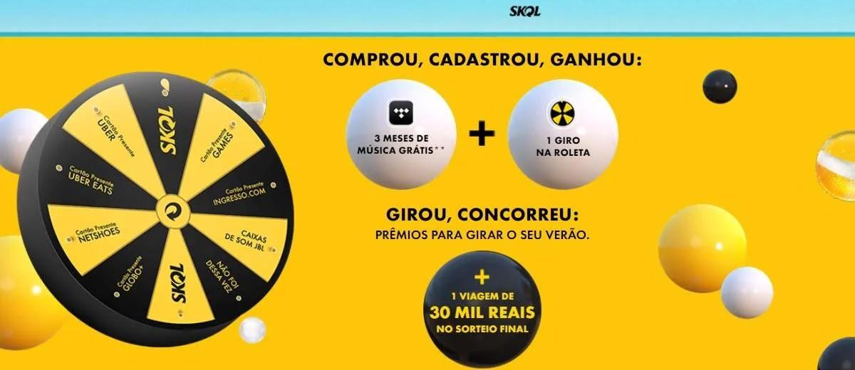 Promoção Skol Verão 2020 Comprou Ganhou e Concorra Viagem 30 Mil Reais
