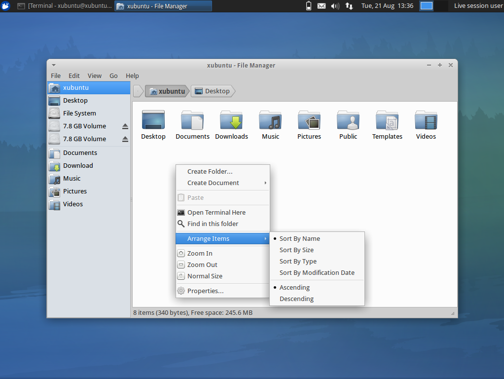 Greybird, The Default Xubuntu Theme Gets A Complete Makeover