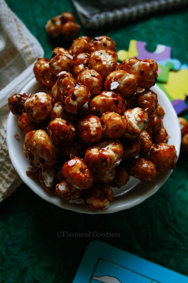 How to make Sweet Makhana |Gur Makhana